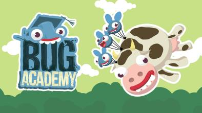 Bug Academy logo and artwork