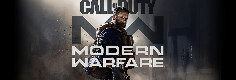 Call of Duty Modern Warfare logo and artwork