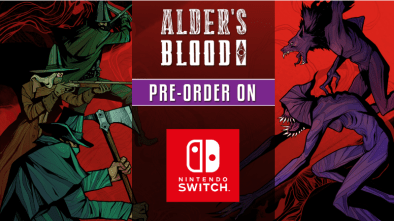 Alder's Blood Pre-order on Switch poster
