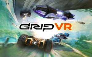 GRIP: Combat Racing VR logo