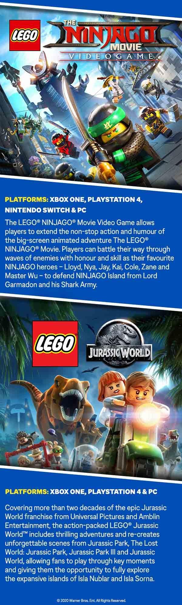 Jurassic Park LEGO Artwork