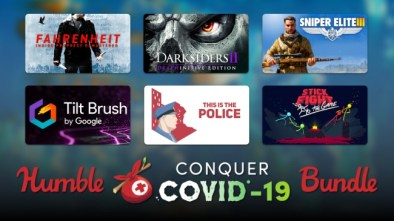 COVID-19 Humble Bundle image