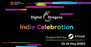 Digital Dragons (indie, steam) Logo