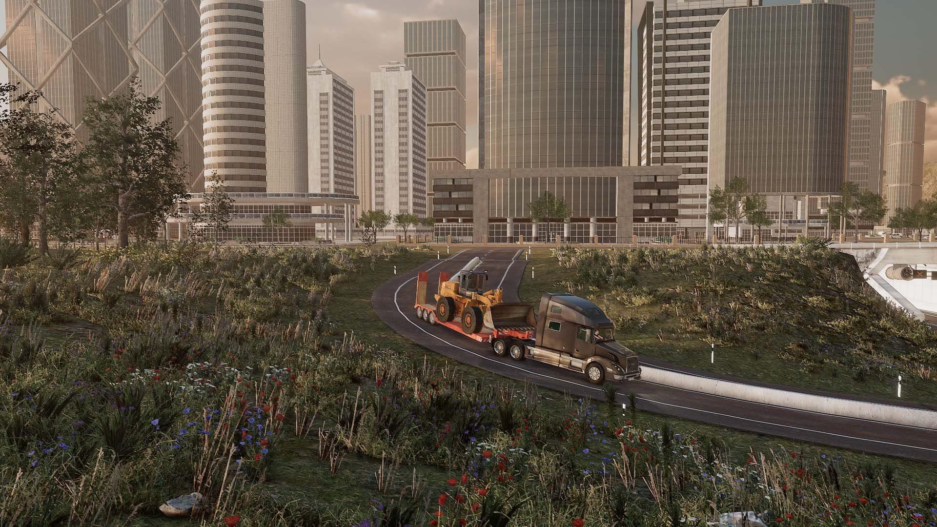 Truck & Logistics Simulator gameplay
