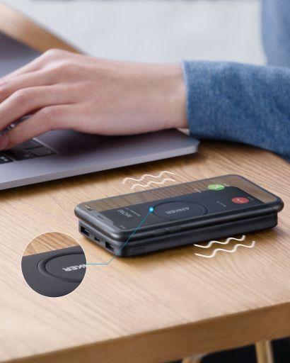 Anker PowerCore 10K Wireless charging wirelessly