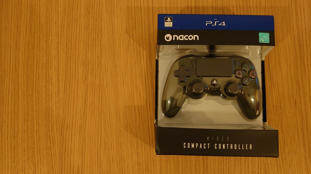 Nacon compact wired boxed controller