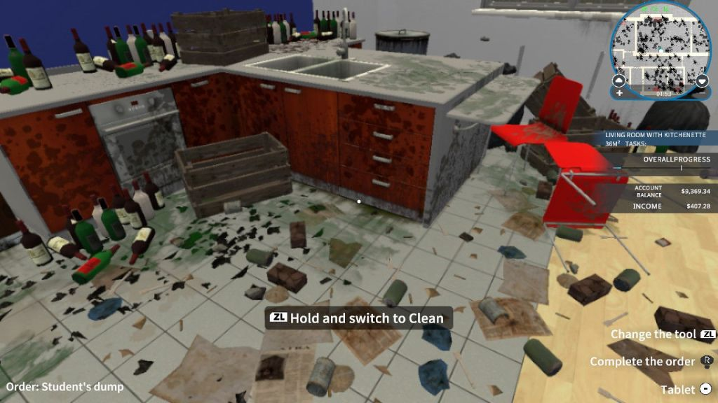 House Flipper is all about tidying as well as renovating