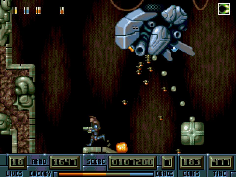 Ultracore gameplay screenshot