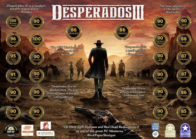 Desperados III Accolades
