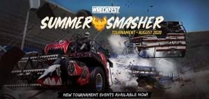Wreckfest SUMMER SMASHER Tournament availoable August