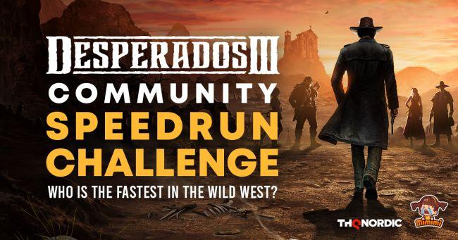 Desperados III Speedrun Contest