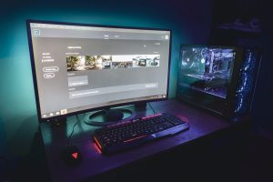 Online Gaming on a PC - Selection of video games