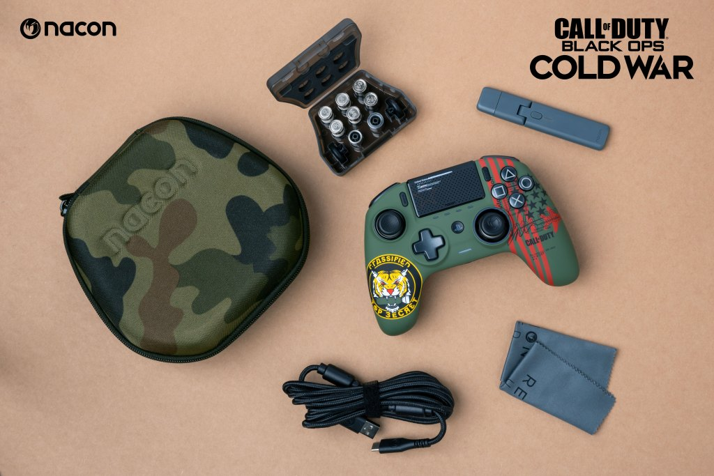 NACON REVOLUTION Unlimited Pro Controller - Call of Duty: Black Ops Cold War Box Contents