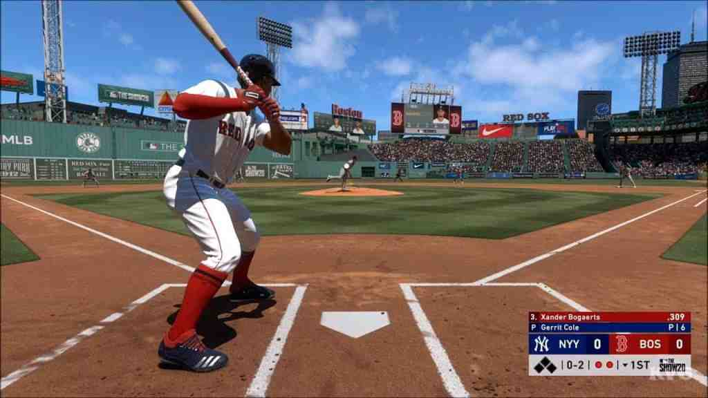 MLB The Show sports gameplay