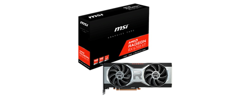 AMD Radeon RX 6700 XT from MSI