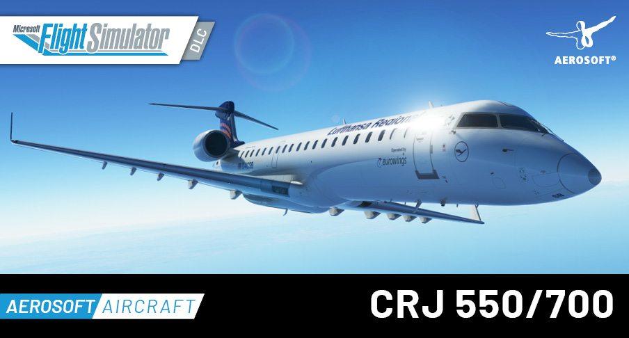 Aerosoft Aircraft CRJ 550-700 image