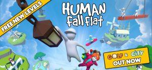 Human: Fall Flat new levels logo