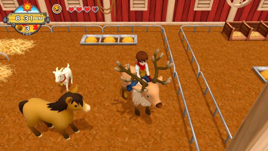 Harvest Moon One World gameplay