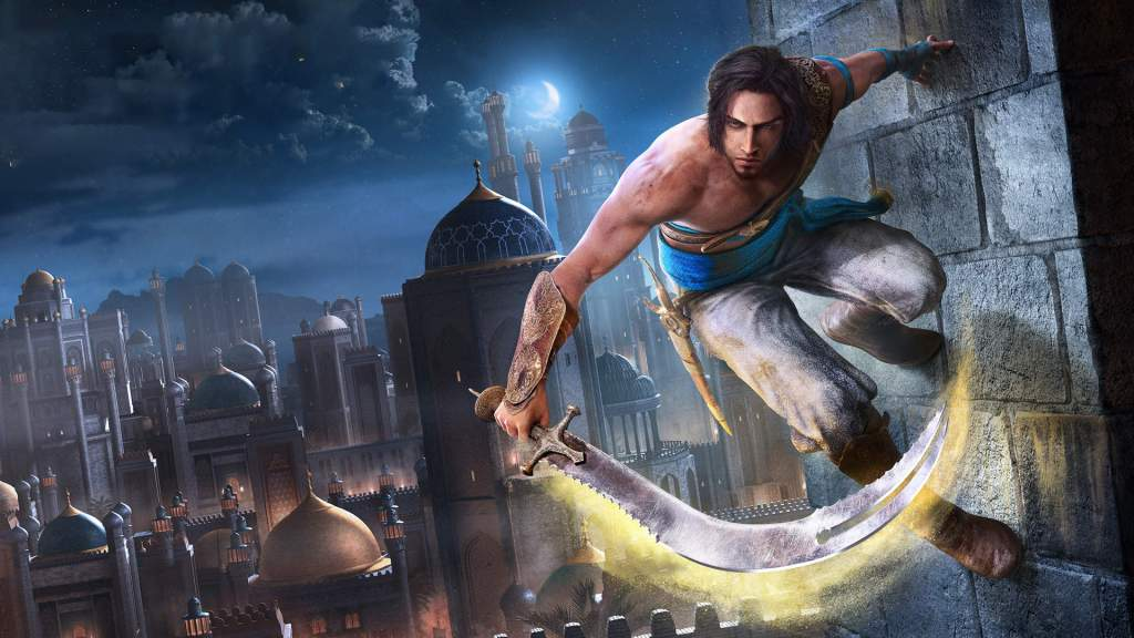 Prince of Persia Sands of Time Remake artwork