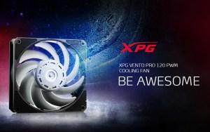 XPG VENTO PRO 120 PWM announced by Nidec Servo Corporation