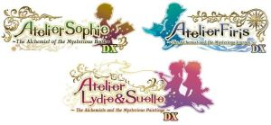 Atelier Mysterious Trilogy logos