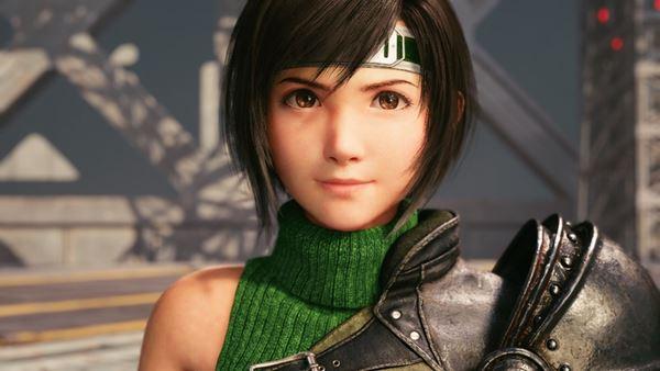 Final Fantasy VII Remake Intergrade Yuffie headshot