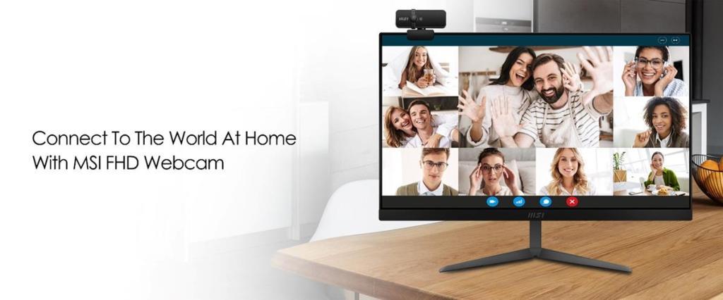 MSI's Modern AM241 & AM271 Webcam