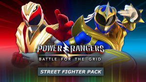 Power Rangers: Battle for the Grid Street Fighter Pack logo