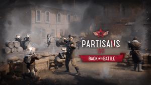 Partisans 1941 Back into Battle logo