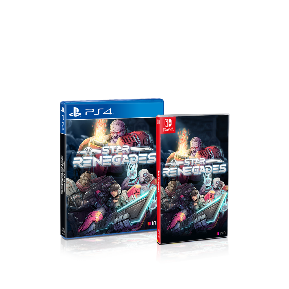 Star Renegades Physical boxes for PS4 and Switch