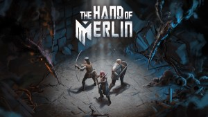 The Hand of Merlin logo