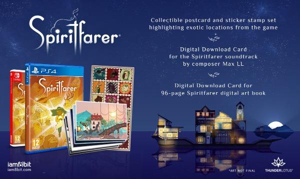 Spiritfarer physical collector's edition