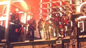 Scarlet Nexus team