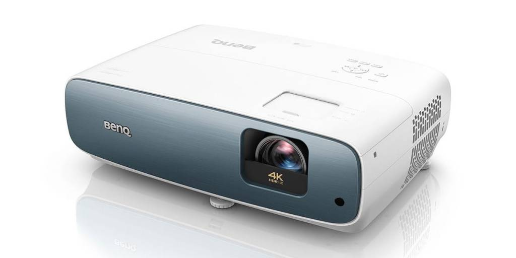 BenQ TK850 projector in white