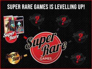 Super Rare Games levelling up