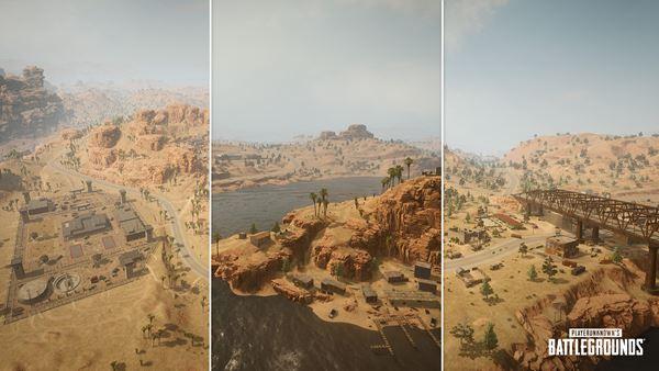 PUBG Miramar Map visual updates