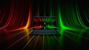 Razer Blade 14 laptop front facing