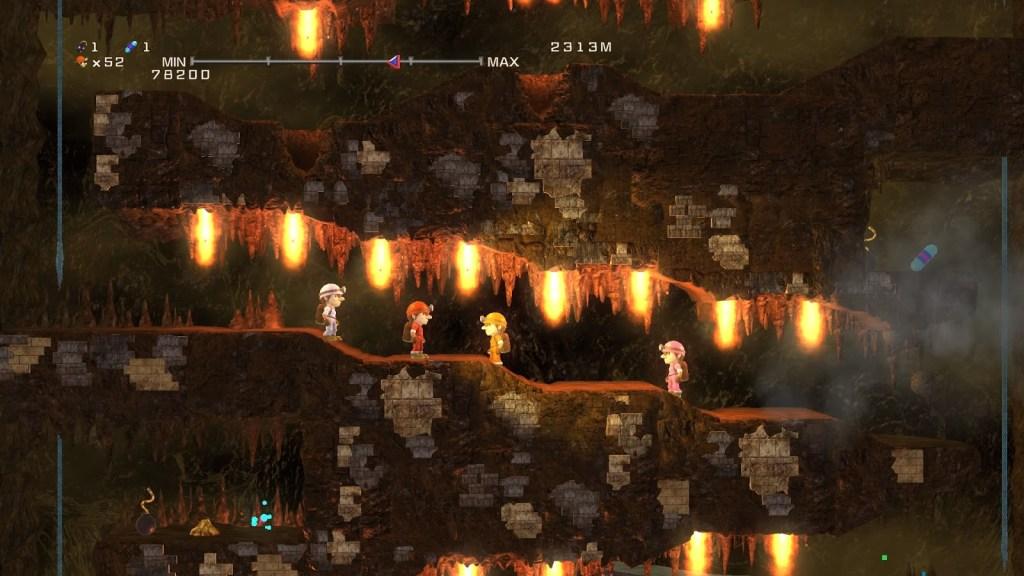 Spelunker HD Deluxe gameplay