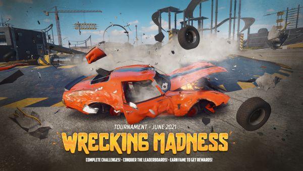 Wreckfest Wrecking Madness tournament