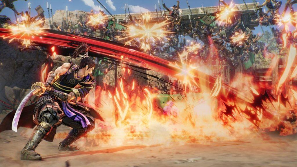 Samurai Warriors 5 combat