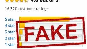 Fake Amazon Reviews header