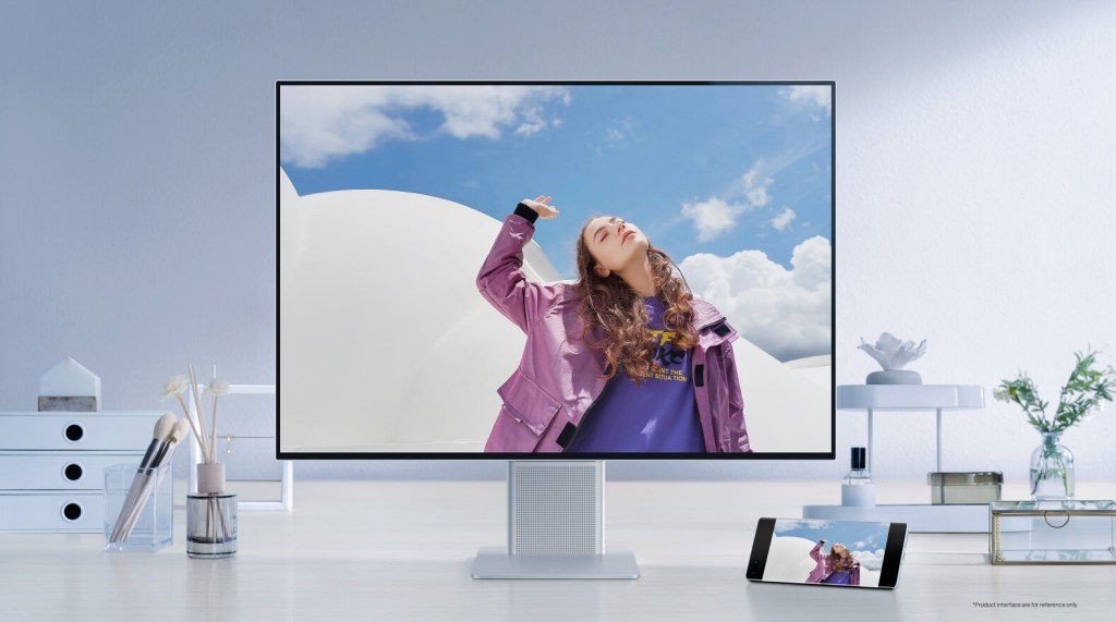 Huawei MateView video projection