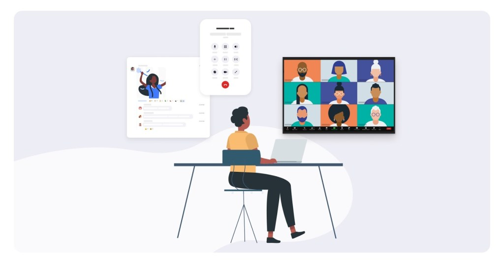 Communication Platforms like zoom, but in animated form
