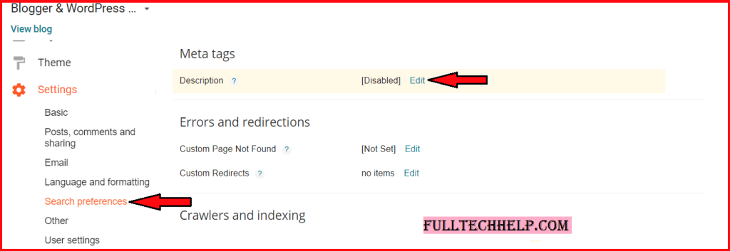 Add Meta Tags to Individual Blogger posts - & Boost your SEO by 200%