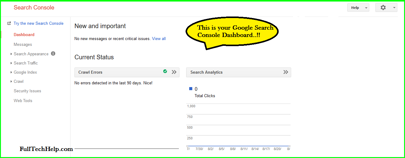 Google Search Console : The Complete (A to Z) Guide