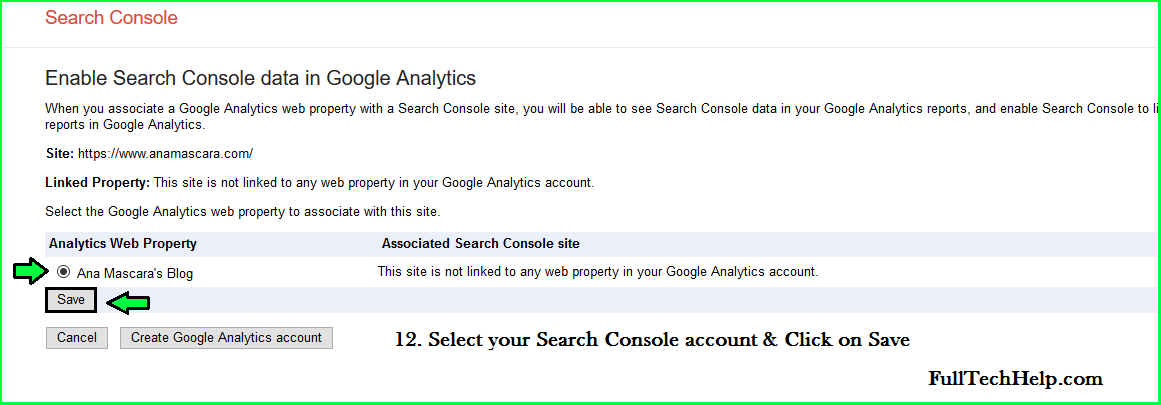 Link Analytics with Google Search Console