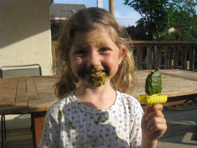 green popsicles