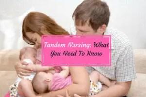 family with tandem nursing kids
