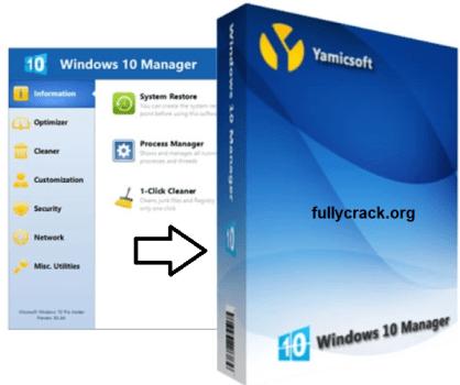 Windows 10 Manager Crack Free