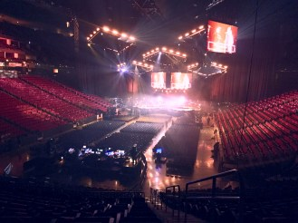 January 2: Passion Conference 2016: sound check
